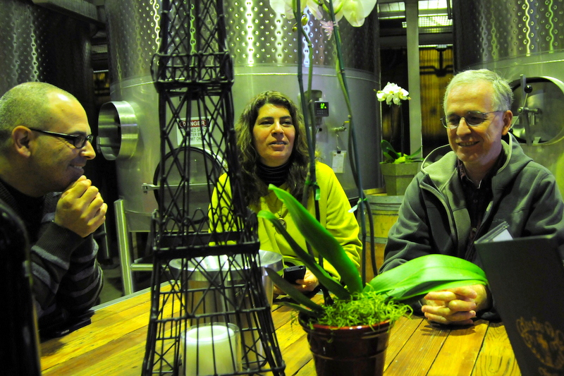 Hegui, Fer and her husband