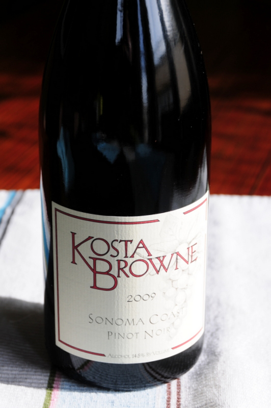 Wine of the Year  2009 Kosta Browne Sonoma Coast Pinot Noir