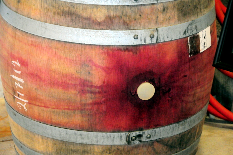 a happy stain on this barrel