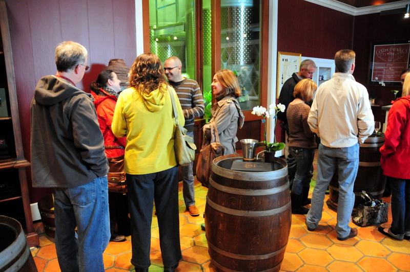 blogger meet up at Clos du Val