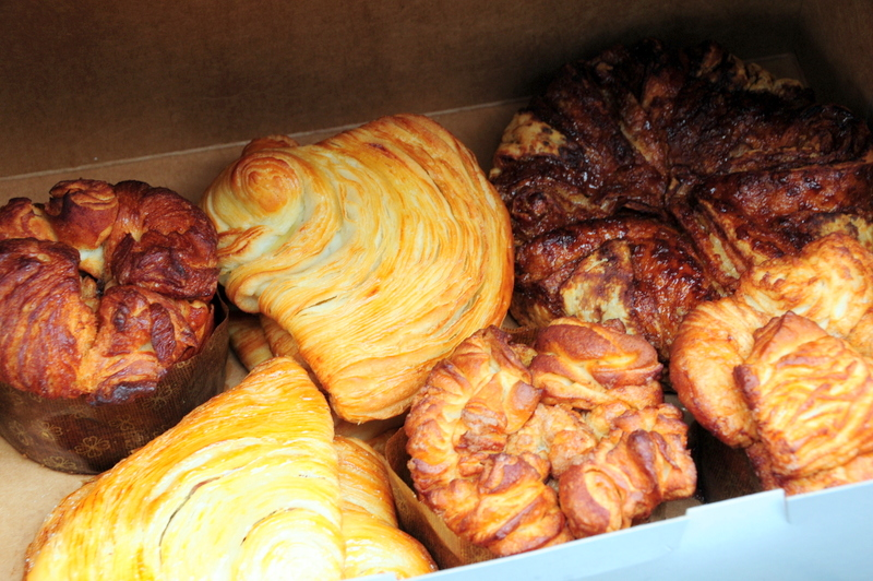 some of Priscilla's excellent breads and pastries