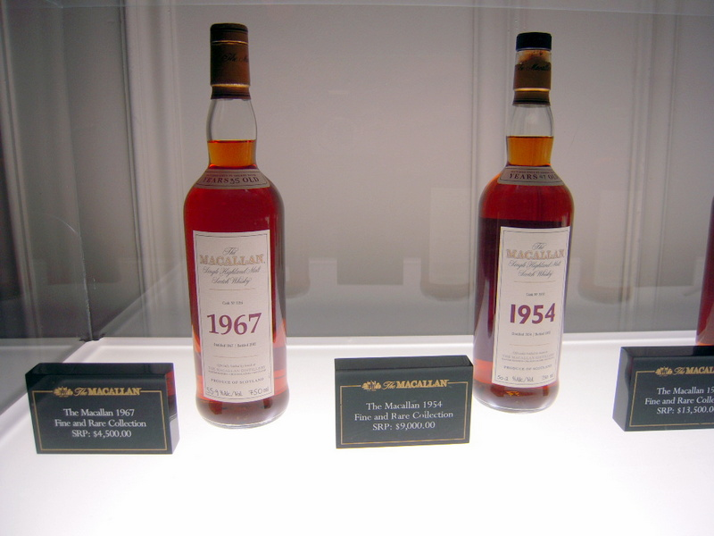 The Macallan 1954 is even pricier, at $9K
