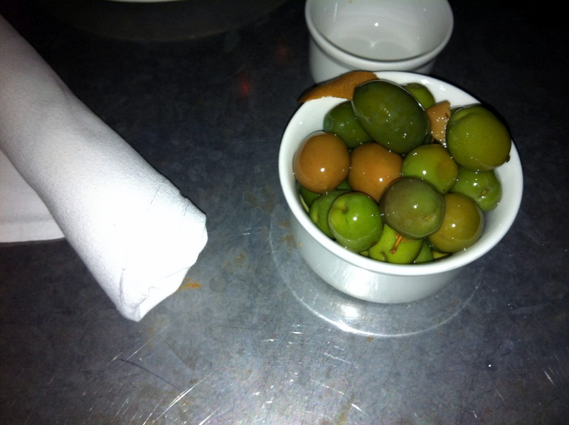 glowing Comstock Saloon olive selection