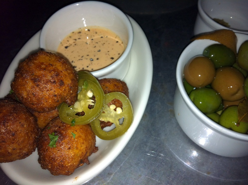hominy fritters