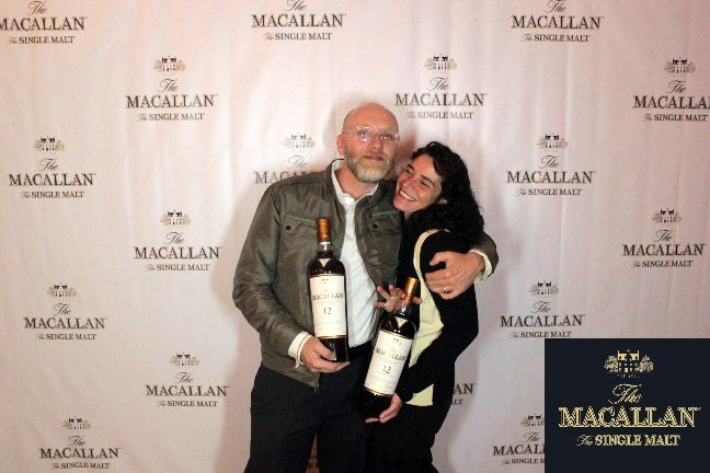 our Macallan Hollywood moment