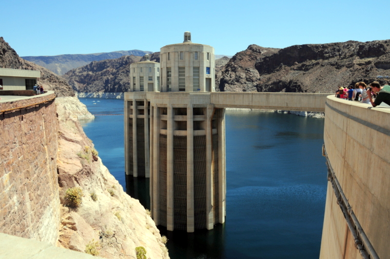 Hoover Dam and Lake Mead are some of the many attractions in the Las Vegas area