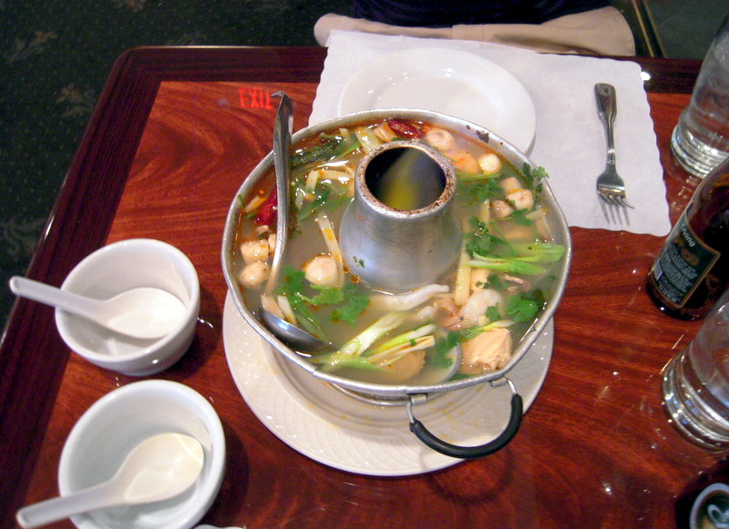Lotus of Siam seafood soup