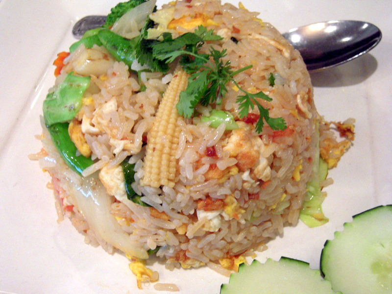 beautiful veggie fried rice