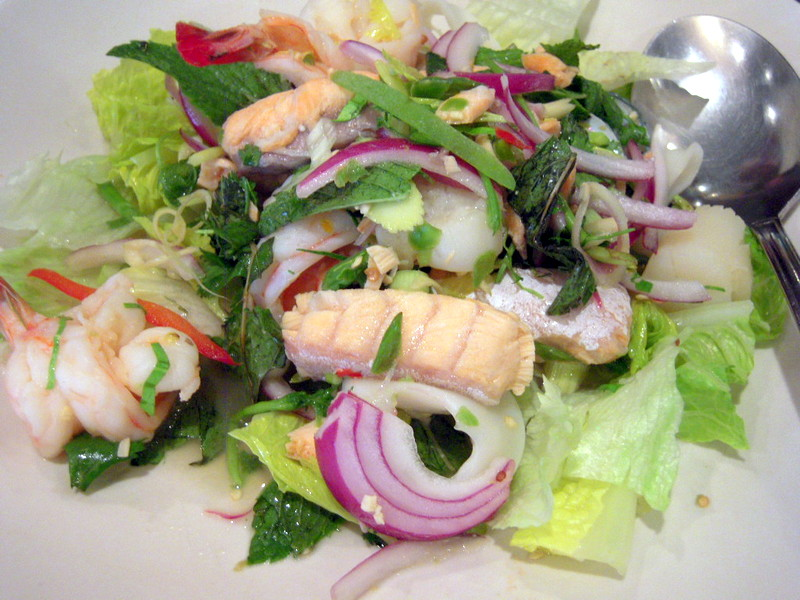flavorful seafood salad