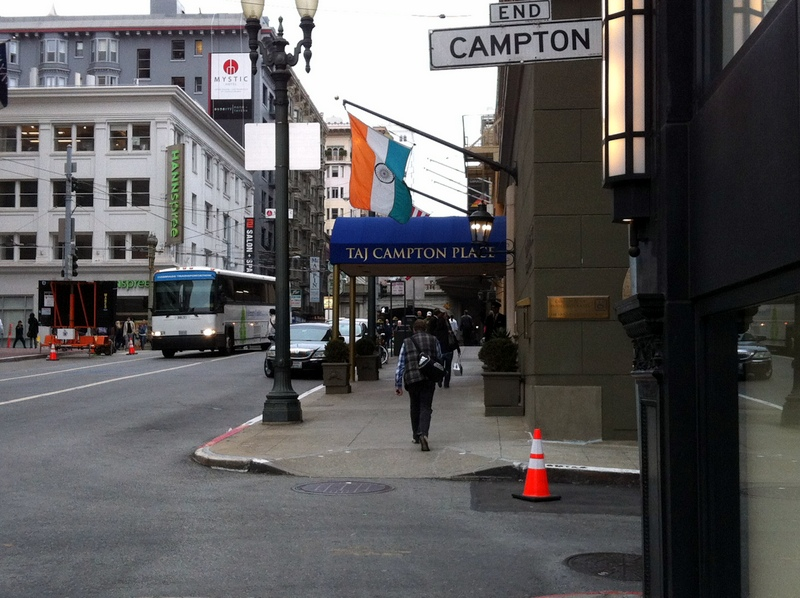 Taj Campton Place on Stockton Street in San Francisco