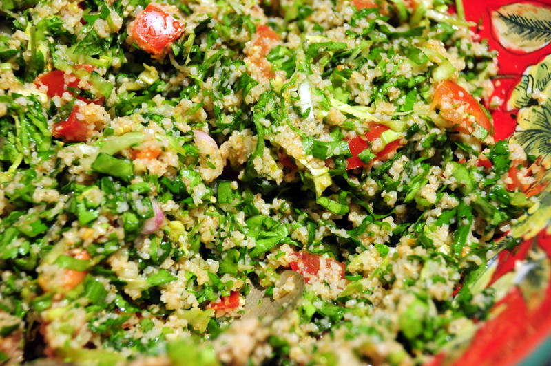 Yotam's baharat-seasoned tabbouleh